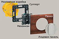 Рамка 4-5 модулей Legrand Celiane Смальта/Белая Глина (69315)