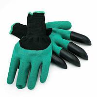 Садовые перчатки с когтями Garden Genie Gloves, Акция