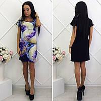 Женское летнее короткое платье Пироженко
