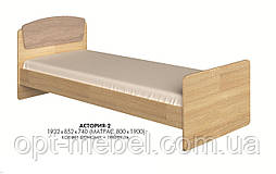 Кровать Астория 2 односпальная