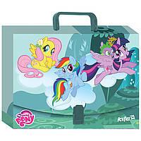 "Папка-портфель Kite"" LP17-209 А4 пласт. Little Pony"