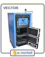 Котел твердотопливный VECTOR 16 ТТК Multi (16 кВт)