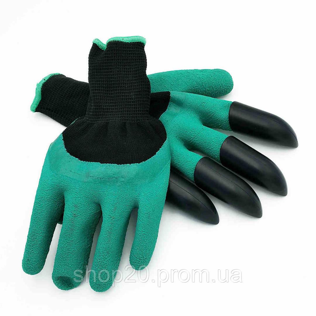 """Садовые перчатки с когтями Garden Genie Gloves, Акция - Интернет магазин """"shop_20"""" в Одессе"""