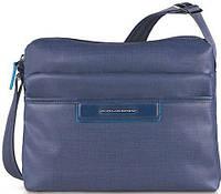 Удобная женская сумка с чехлом для iPad/iPad Air Piquadro AKI/N.Blue, BD3292AK_BLU2 синий