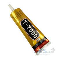 ZHANLIDA Клей силиконовый T-7000, чёрный, 110 ml, в тюбике с дозатором