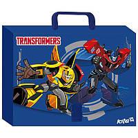 "Папка-портфель ""Kite"" TF17-209 А4 пласт. Transformers"