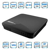 М8S PRO- S912 Amlogic, Смарт ТВ Андроид 7 приставка UltraHD 4k и медиаплеер