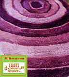 """Набір з 2-х килимків """"Confetti"""" в ванну 100х60 см і туалет 50х60 см з вирізом під унітаз, фото 2"""