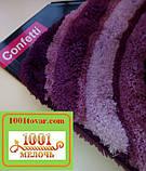 """Набір з 2-х килимків """"Confetti"""" в ванну 100х60 см і туалет 50х60 см з вирізом під унітаз, фото 3"""