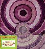 """Набір з 2-х килимків """"Confetti"""" в ванну 100х60 см і туалет 50х60 см з вирізом під унітаз, фото 4"""