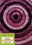 """Набір з 2-х килимків """"Confetti"""" в ванну 100х60 см і туалет 50х60 см з вирізом під унітаз, фото 5"""