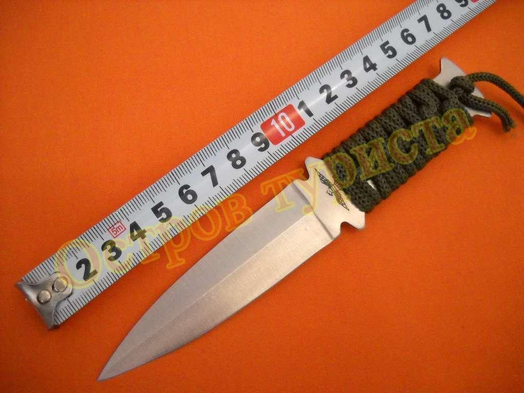 Нож метательный 201м с ножнами