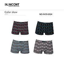 Подростковые стрейчевые шорты на мальчика Марка  «IIN.INCONT»  Арт.2624, фото 3
