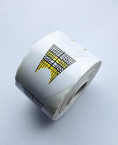 Формы для наращивания ногтей (белые), 500 шт.
