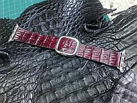 Ремешок из Крокодила для часов Apple Watch