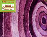 """Набір з 2-х килимків """"Confetti"""" в ванну 100х60 см і туалет 50х60 см з вирізом під унітаз, фото 6"""