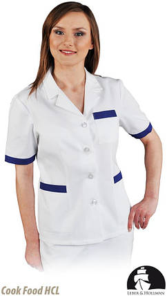 Защитная женская блуза с коротким рукавом LH-HCLS_J WN, фото 2