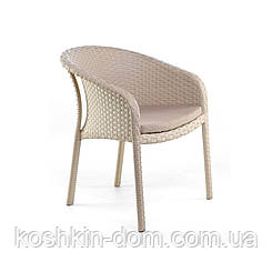 Крісло Блюз плетені меблі з ротанга