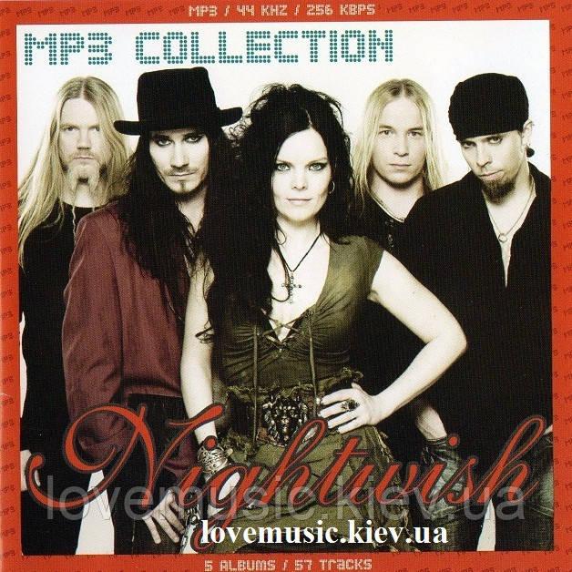 Музичний сд диск NIGHTWISH MP3 Collection (2008) mp3 сд