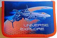 Пенал Одинарный с 1 отворотом Universe Explore K17-621-4 Kite Германия