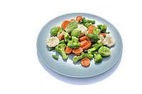 Смесь весенняя замороженная весовая (капуста цветная, капуста брокколи, капуста брюсельская, фасоль стрючковая