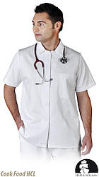 Блуза защитная с коротким рукавом LH-HCL_JSSBU W