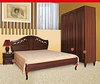 Кровать Луиза орех двухспальная