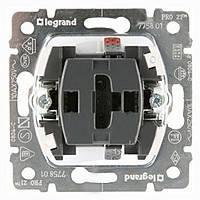 Выключатель 1-клавишный 10АХ 250В Legrand Galea Life (775801)