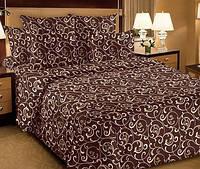 Двуспальный комплект постельного белья Gold 077