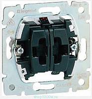 Выключатель 2-клавишный 10АХ 250В для рольставней Legrand Galea Life (775804)