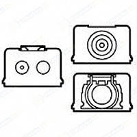 Комплект уплотнителей для кабель-каналов труб и кабеля Legrand Galea Life Белый (776184)