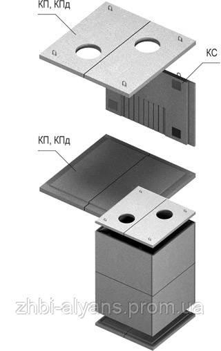 Теплокамеры сборные КС-1 (ПС 21.11.2)
