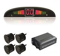 Автомобильный парктроник, Парковочный радар на 4 датчика с LED дисплеем, Хит продаж