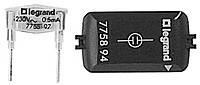 Лампа+вставка 230В 0,5мА для механизмов подсветки/индикации - зеленая Legrand Galea Life (775894)