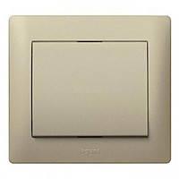 Лицевая панель выключатель/переключатель 1-клавишный Legrand Galea Life Титан (771410)
