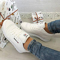 Женские кроссовки Reebok classic white . Рибок классик белые . 36-41 рр