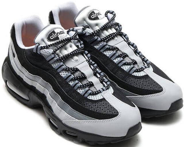 17e308df6e4c9 Nike Air Max 95 Essential Black/Wolf Grey как нельзя лучше адаптированы для  каждодневной носки, однако, утратив актуальность как спортивная экипировка,  ...