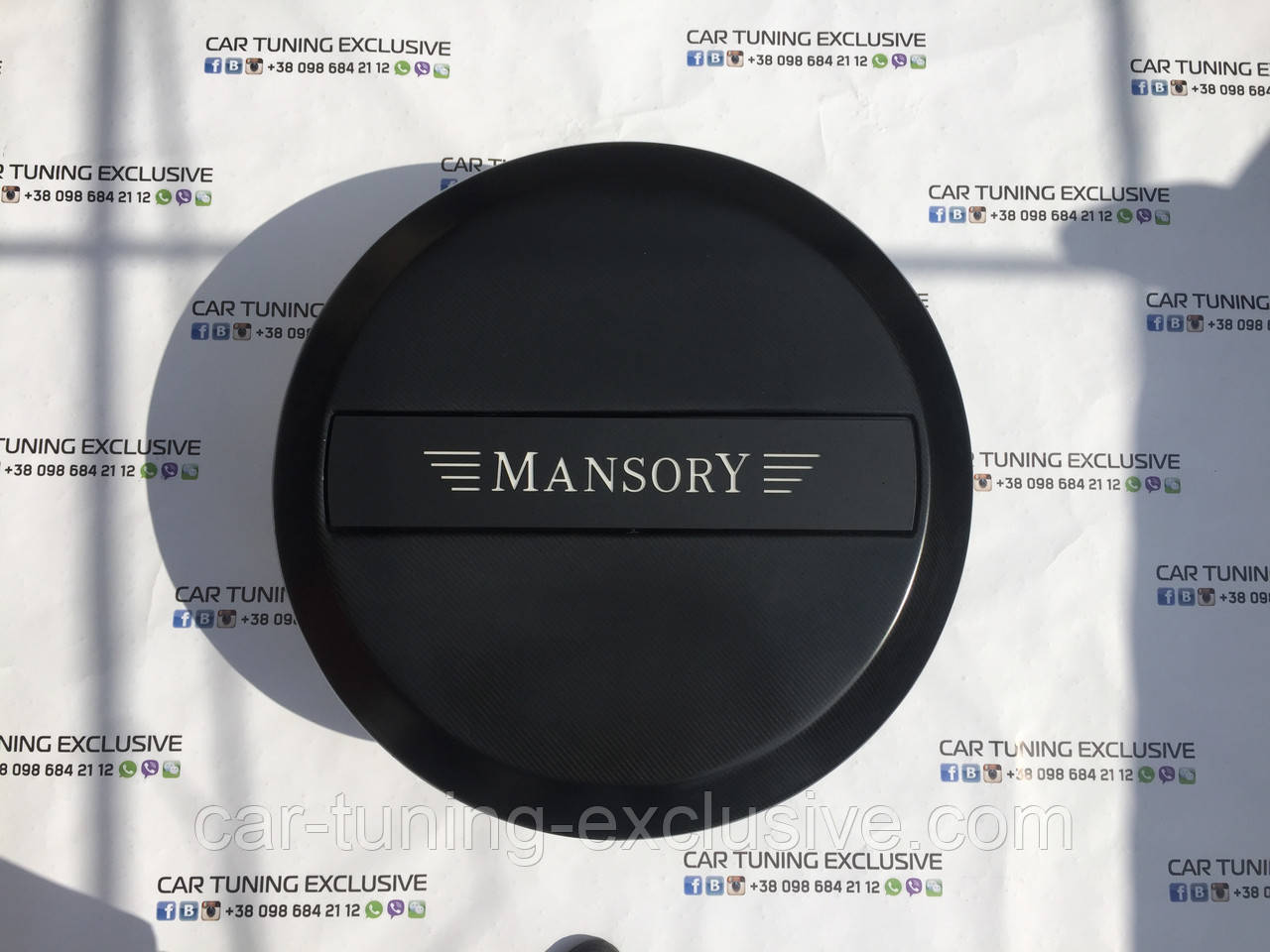 MANSORY spare wheel cover for Mercedes G-class