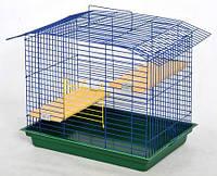 Клетка для шиншилл, крыс, белок, дегу и разных грызунов 58х40х48 см краска