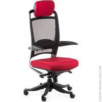 Офисное Кресло Руководителя Special4you Fulkrum Deepred Fabric/Black Mesh (E0635)