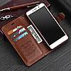 """Huawei P9 lite оригинальный кожаный чехол кошелёк из натуральной телячьей кожи на телефон """"SUZE"""", фото 5"""
