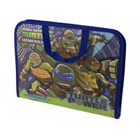 Папка-портфель на молнии с тканевыми ручками Ninja Turtles 491182