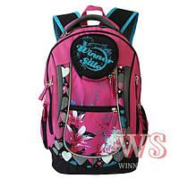 Рюкзак для девочки Winner Stile (бирюзовый, сиреневый, белый, розовый, терракотовый)