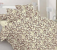 Двуспальный комплект постельного белья Gold 076