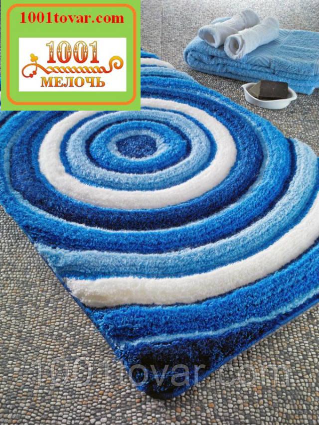 """Акриловий килимок """"Confetti"""" у ванну або туалет БЕЗ вирізу під унітаз, 50х60 див. , 1 шт."""
