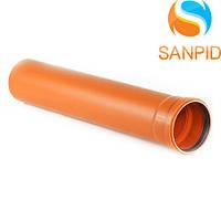 Труба для наружной канализации Wavin 160х0,5х4