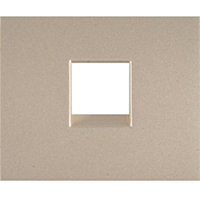 Лицевая панель телефонной розетки RJ11 (арт.775938) Legrand Galea Life Титан (771495)