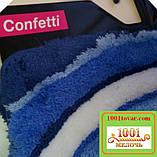"""Акриловий килимок """"Confetti"""" у ванну або туалет БЕЗ вирізу під унітаз, 50х60 див. , 1 шт., фото 5"""