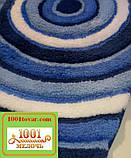 """Акриловий килимок """"Confetti"""" у ванну або туалет БЕЗ вирізу під унітаз, 50х60 див. , 1 шт., фото 2"""