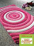 """Набір килимків з 3-х штук """"Confetti"""" в ванну 100х60 див., туалет 50х60 см з вирізом і 50х60 см БЕЗ вирізу, фото 10"""